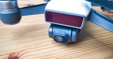 IR-Sensor an der Front der DJI Spark