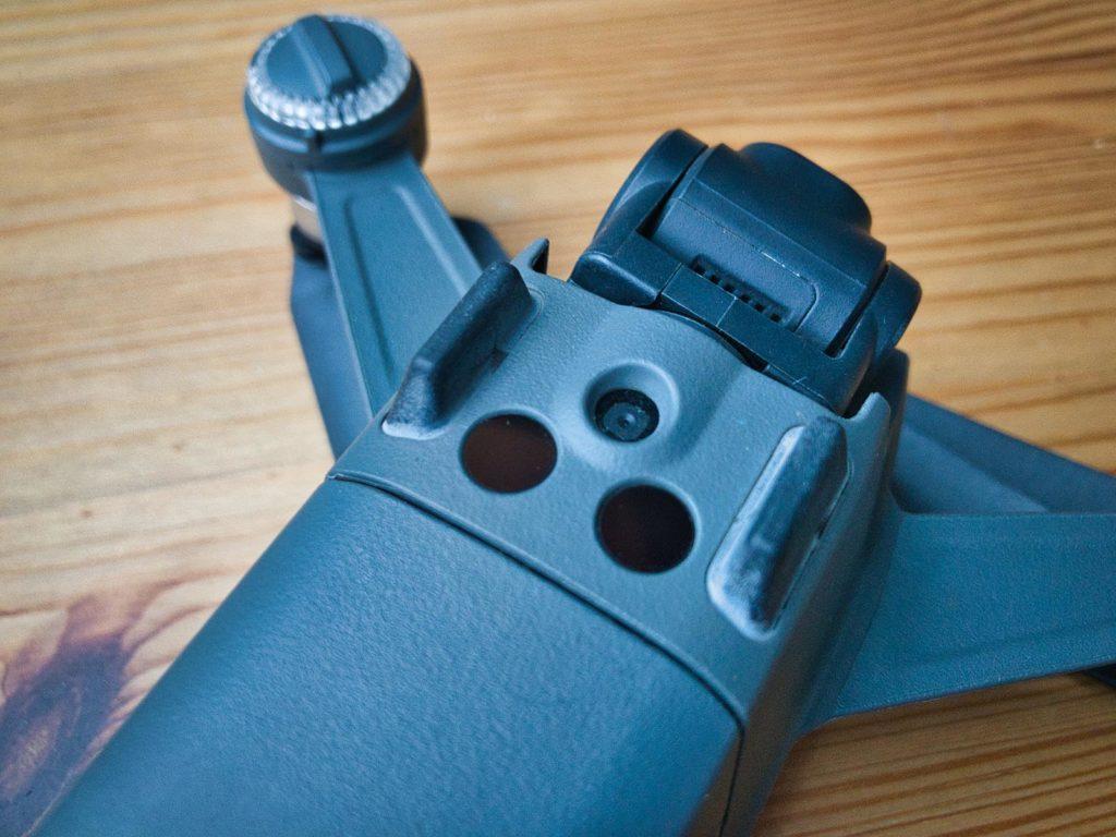 Kamera und IR-Sensoren auf der Unterseite der DJI Spark