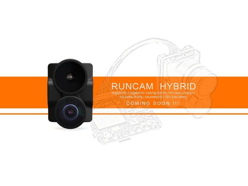 RunCam veröffentlicht erstes Bild der RunCam Hybrid FPV-Kamera