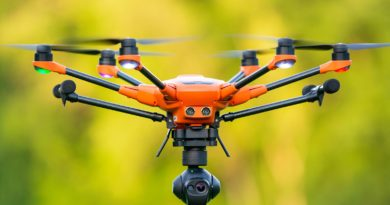Yuneec H520 Hexacopter in der Luft