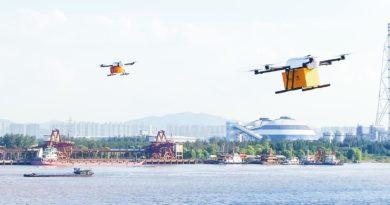 Antwork Drohnen liefern KFC Essen aus