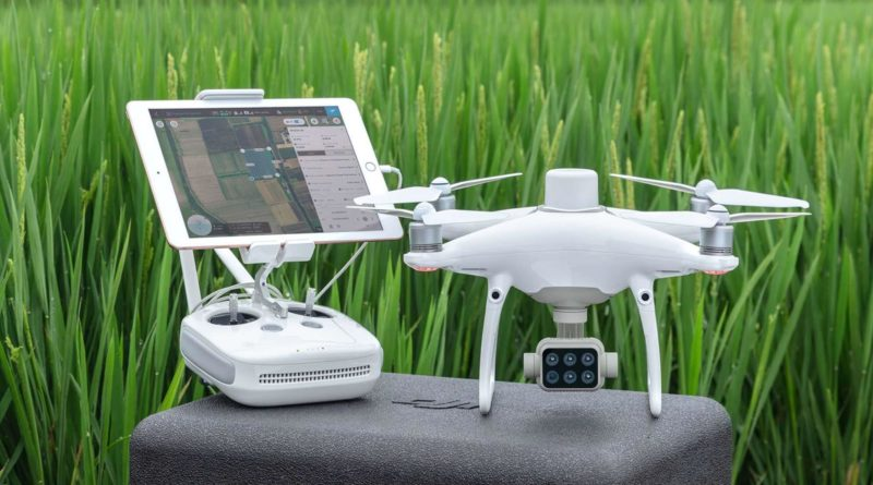 DJI P4 Multispectral Drohne für die Landwirtschaft