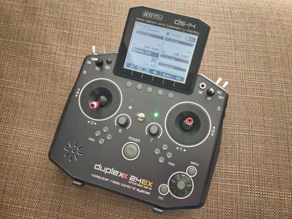 Jeti DS-14 Fernsteuerung mit Duplex EX Protokoll