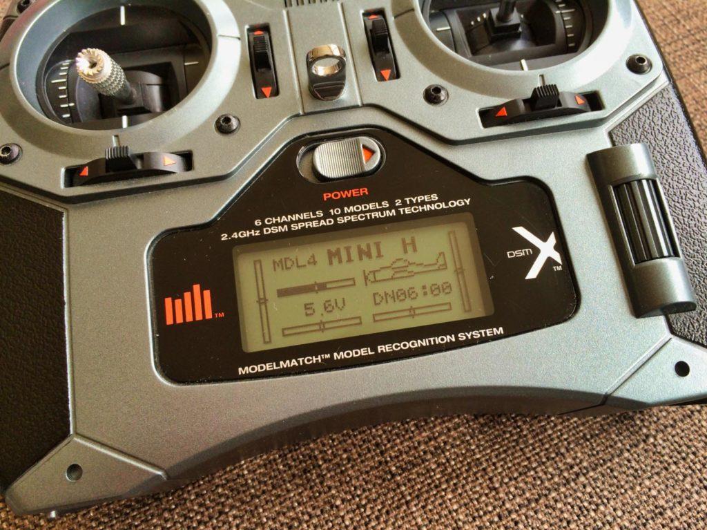 Spektrum DX6i Fernsteuerung mit DSMX Protokoll