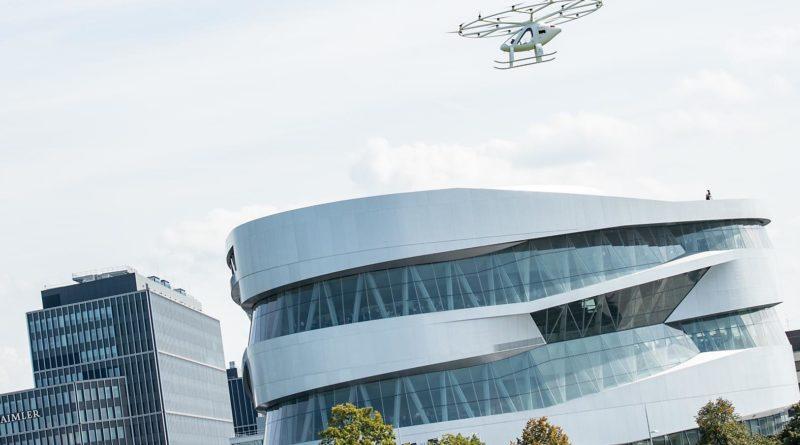 Volocopter Flug in Stuttgart