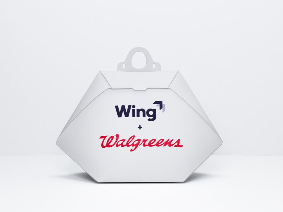 Wing Aviation Box für Walgreens Sendungen