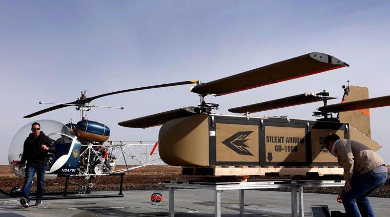YEC Silent Arrow Glider Drone