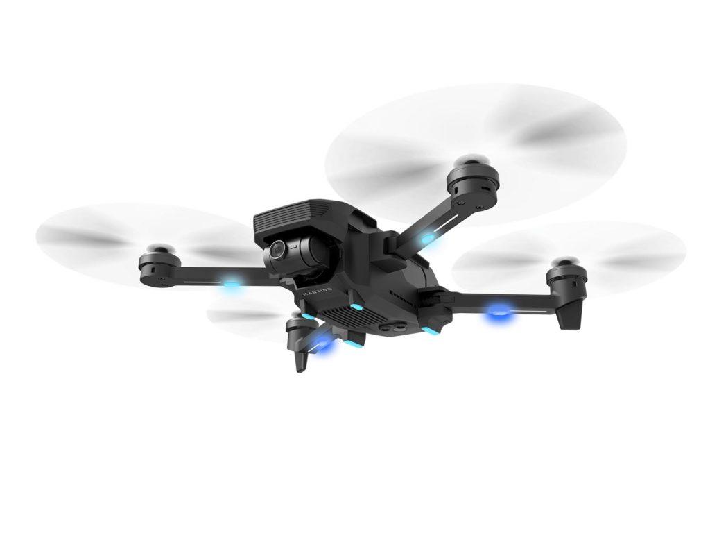Yuneec Mantis G Drohne im Flug - Image Source Yuneec
