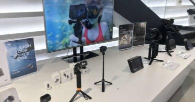 DJI Gimbals, Kameras und Osmo Action