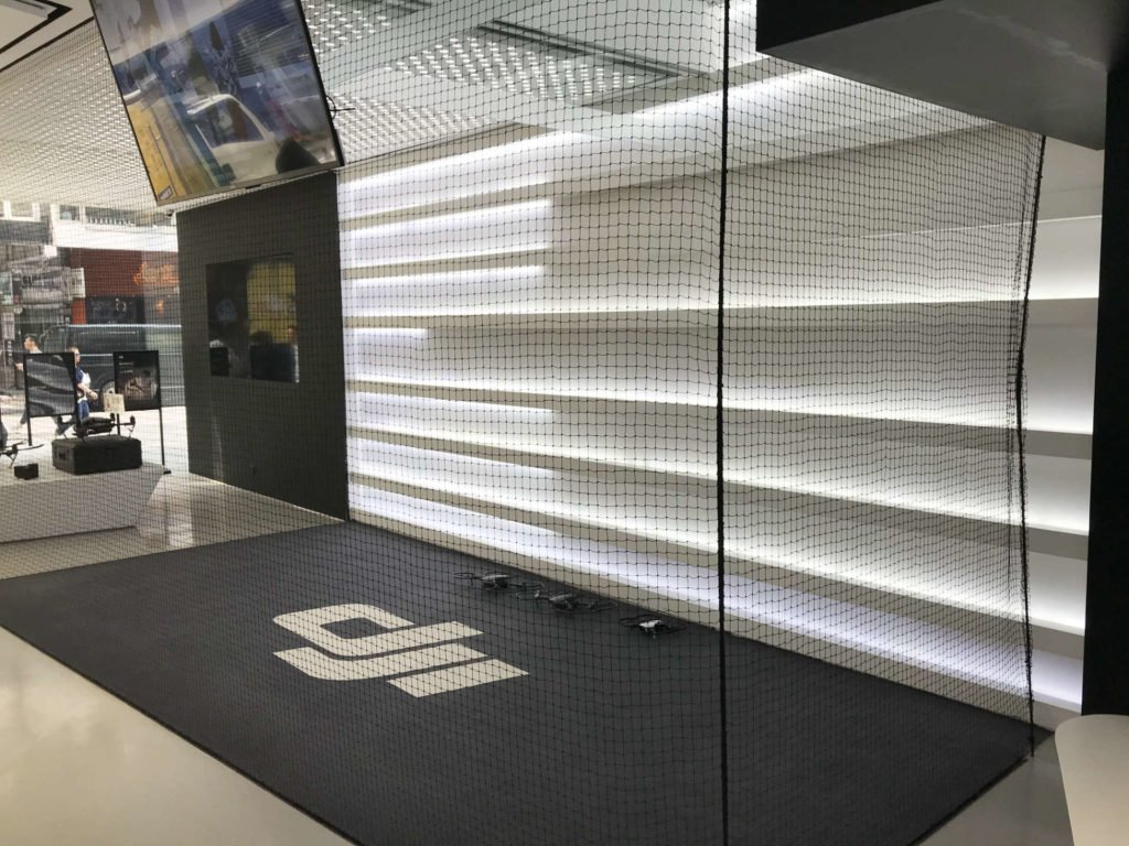 DJI Indoor Flugarea in Hongkong