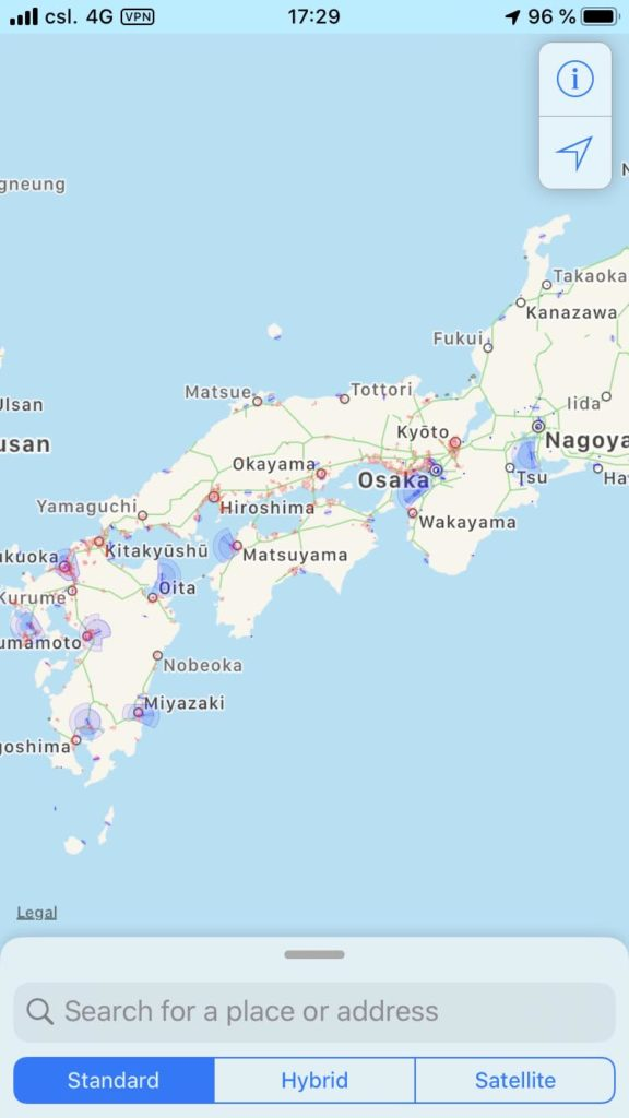 Drone Maps Japan Japan Karte
