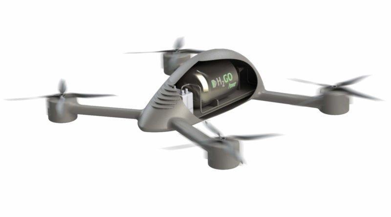H2Go Power Drohne mit Brennstoffzelle