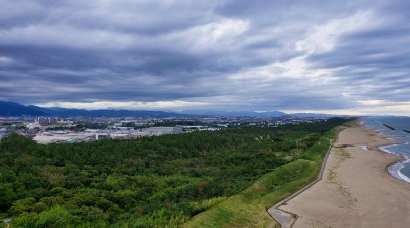 Kanazawa Stand (Japan) Luftbild