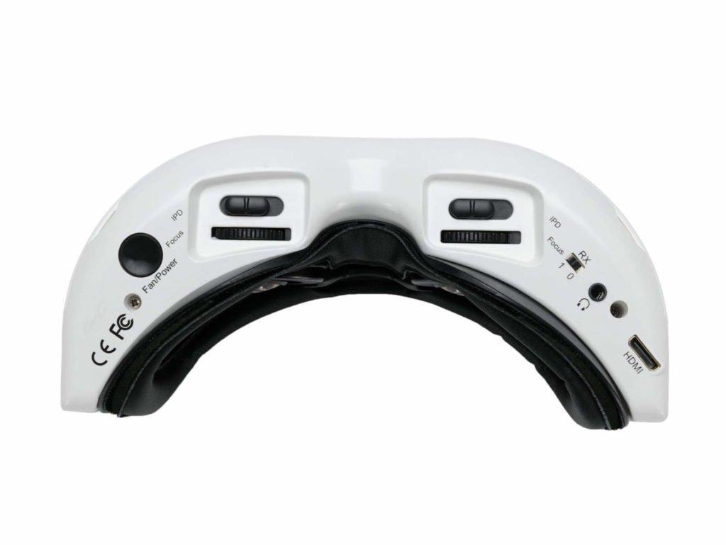 Fat Shark HDO2 FPV-Brille Unterseite