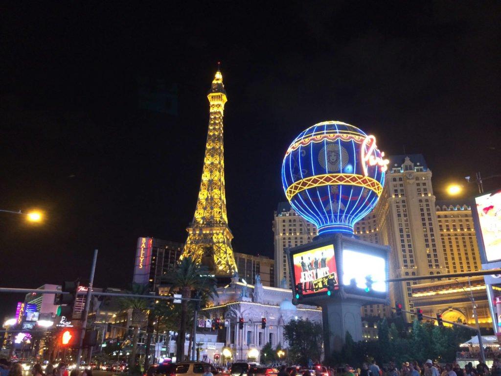 Las Vegas Foto bei Nacht