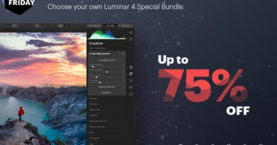 Luminar 4 Black Friday Special Bundle