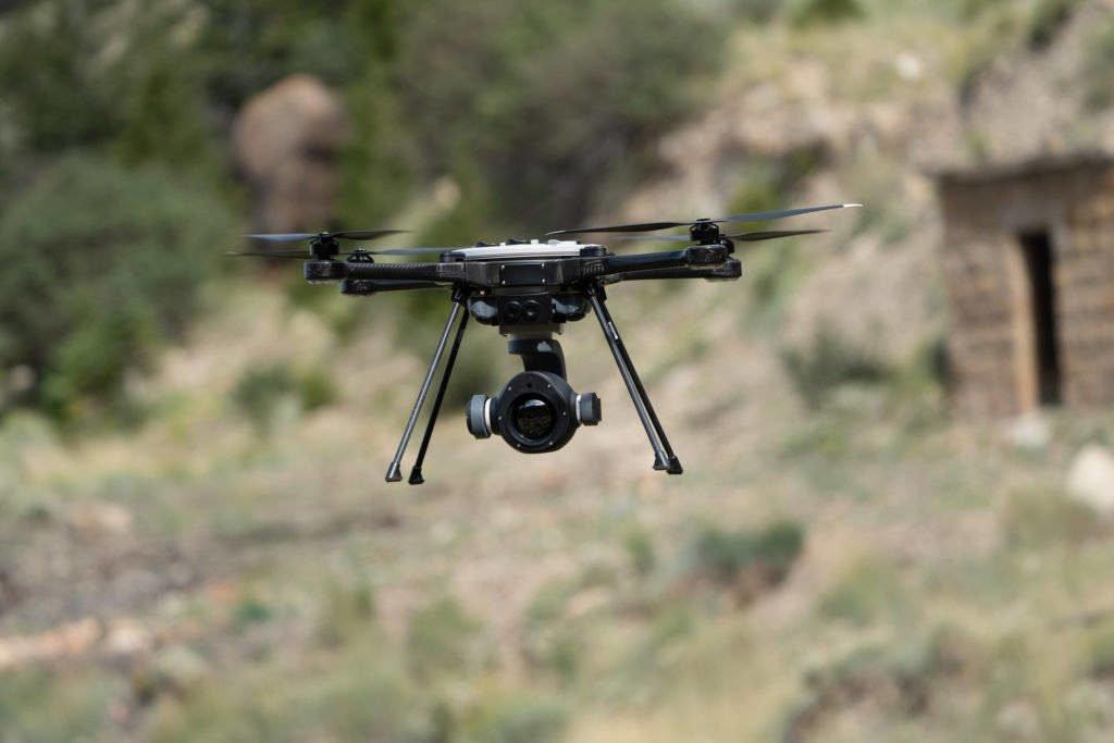 StormCaster-T-Kamera im Flug
