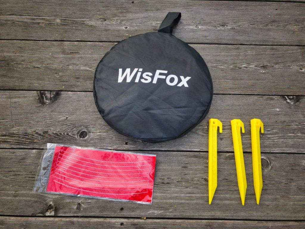 WISFox Drohnen Landing Pad - Lieferumfang