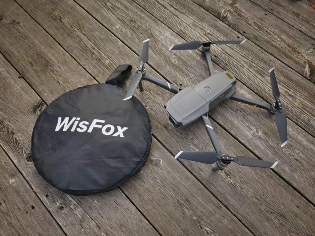 WISFox Drohnen Landing Pad - Vergleich mit Tasche