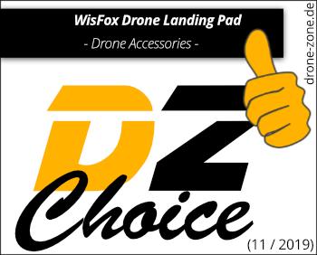WisFox Drone Landing Pad DZ Choice Award Web