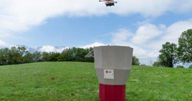 DPD Drohnen Paketsäule