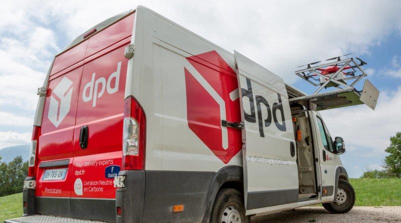 DPD Drone-drivers-assistant-van