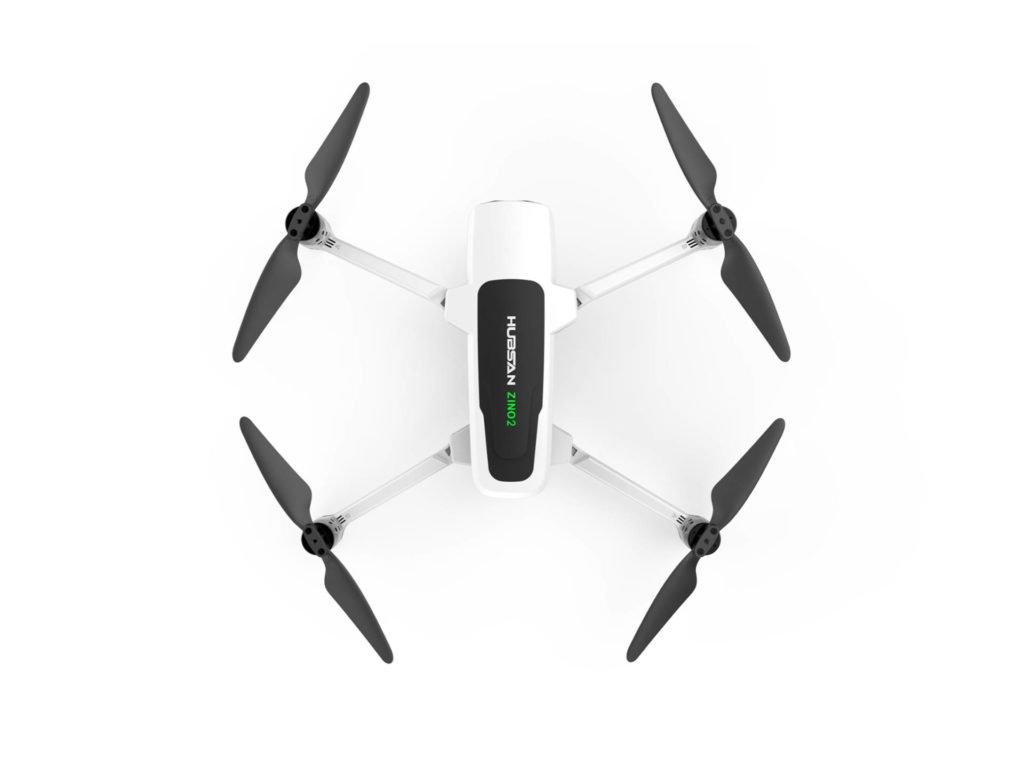 Die zweite Zino Drohne von oben