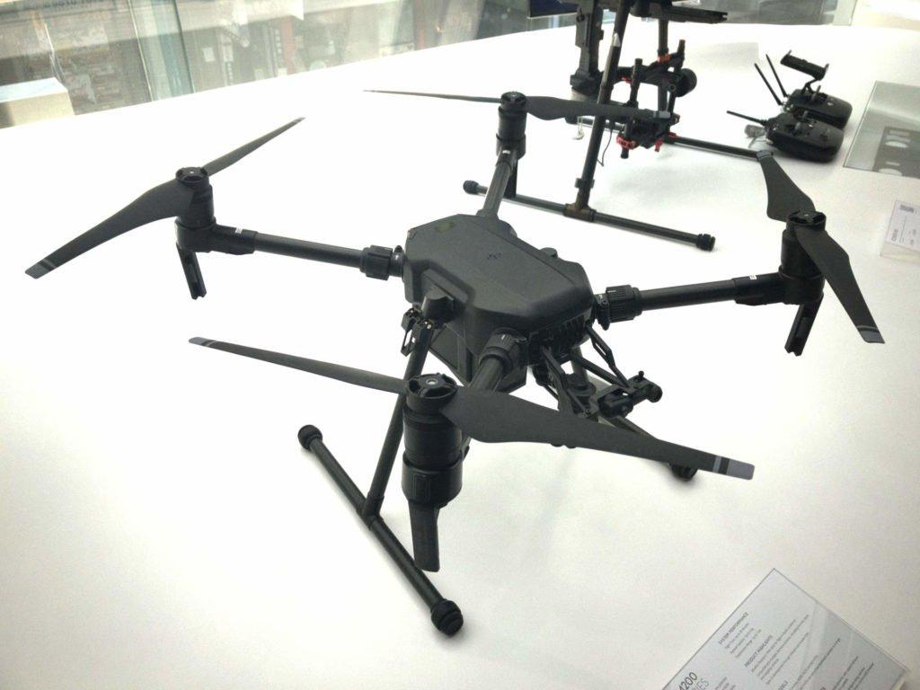 DJI Matrice 200 Drohne Draufsicht