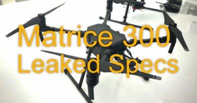 DJI Matrice 300 Leakes Specs