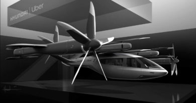 Hyundai S-A1 Drohnen-Taxi in Kooperation mit Uber