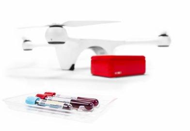 Matternet M2 Drohne mit medizinischen Proben