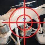 Drone Dome Laser schmilzt Phantom 4 Drohnen am Himmel