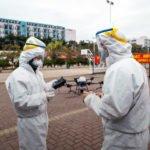 DJI bekämpft Corona Virus mit Drohnen