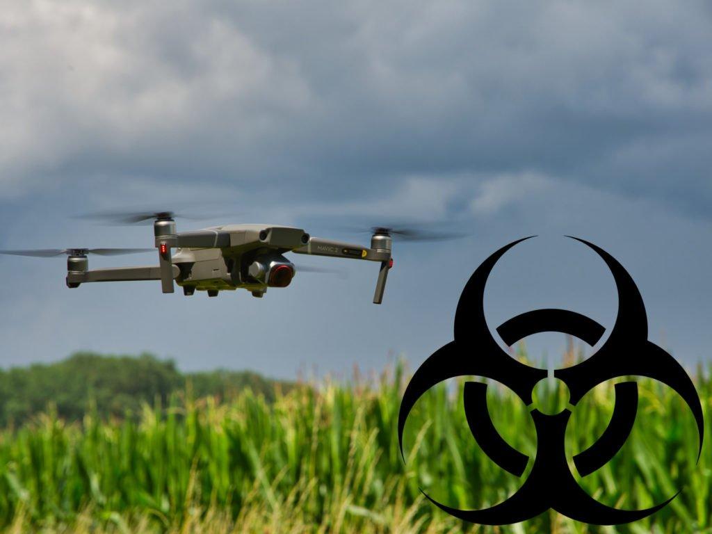 Drohnen helfen im Kampf gegen Corona