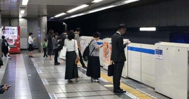 Drohnen inspizieren U-Bahn-Tunnel in Japan