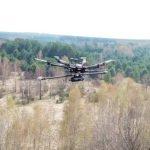 LiDAR-Drohne erstellt Karte des Red Forest in Chernobyl