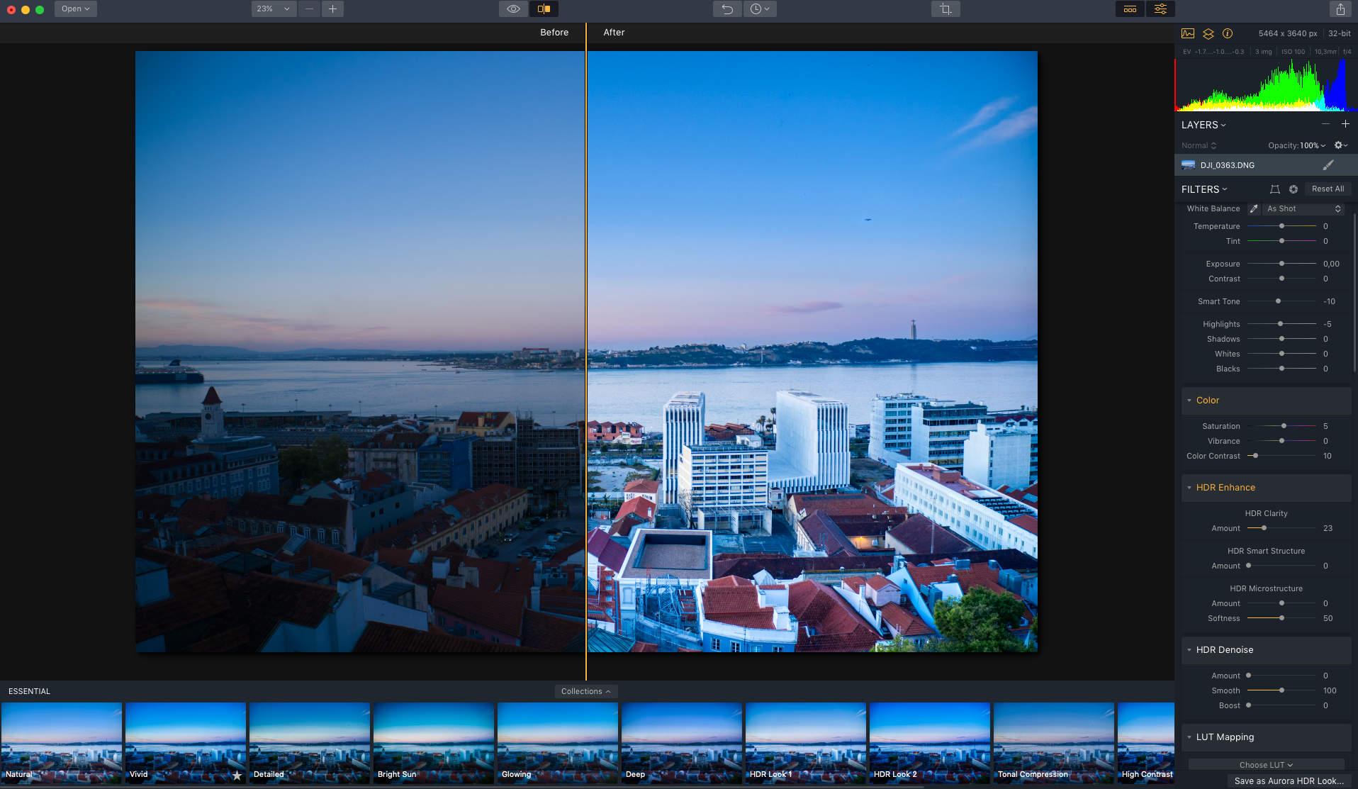 HDR-Fotos mit der Drohne - Aurora HDR 2019 Bildbearbeitung