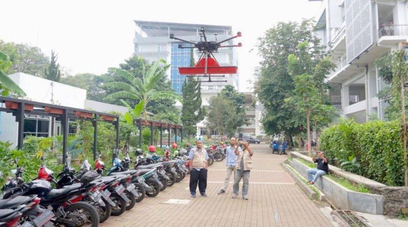 Terra Drone mit Bodenradar GPR