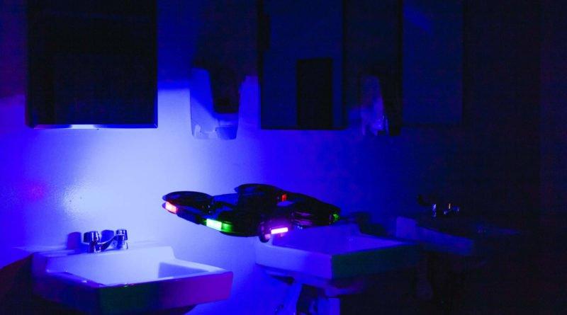 Aertos 120 UVC Desinfektion via Drohne