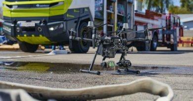 DJI Matrice 200 Drohne von Rosenbauer Truck