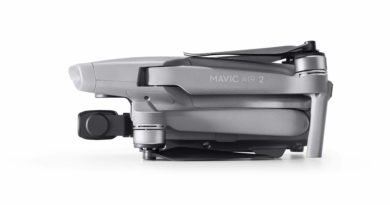 Mavic Air 2 gefaltet von der Seite