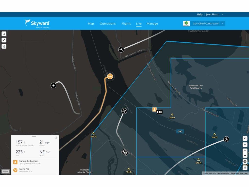 Skyward LiveFlights Screenshot