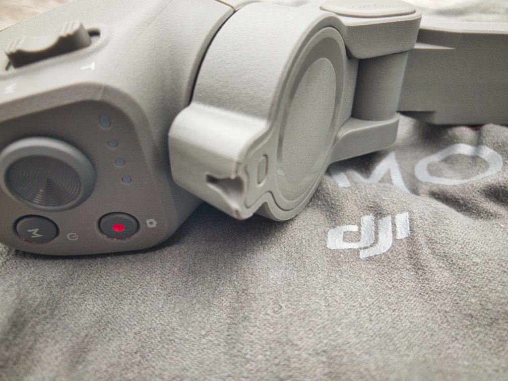 DJI Osmo Mobile 3 Gimbal - Arretierung der Arme