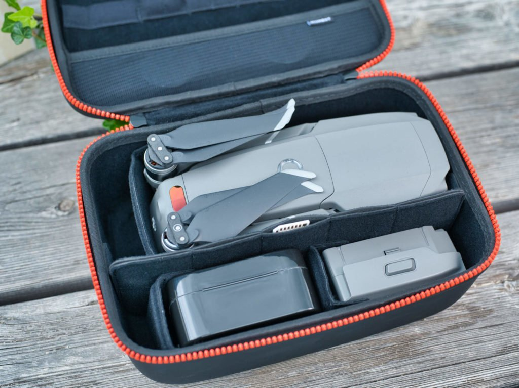 Drone Carrying Case - Voll gepackt