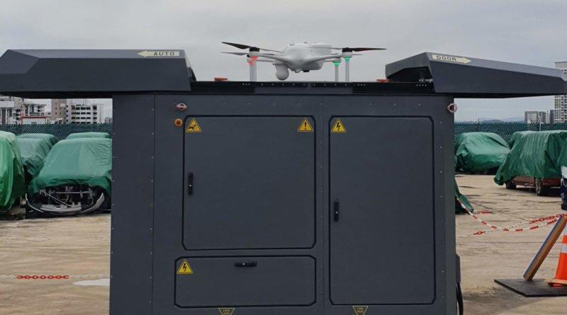 HXT Drone Box mit Überwachungsdrohne