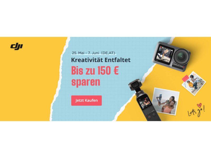 """DJI reduziert Preise von Osmo & Ronin-Produkten – """"Kreativität entfalten"""""""