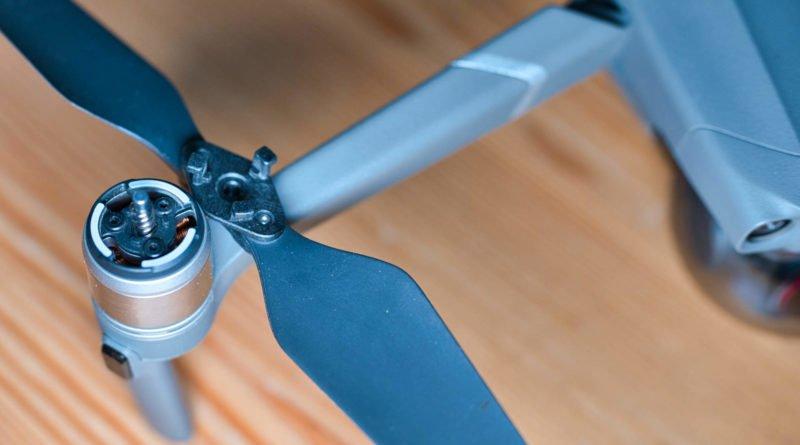 Mavic 2 Propeller Lock Mechanismus