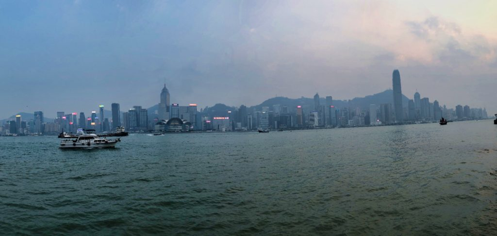 Panorama in Hongkong