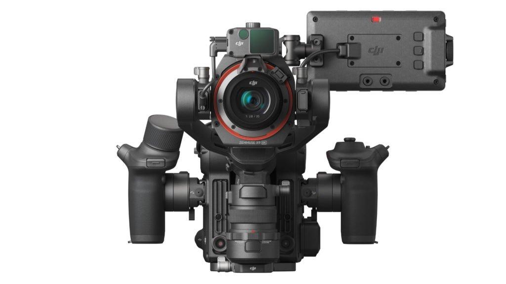 Zenmuse X9-8K auf der DJI Ronin 4D