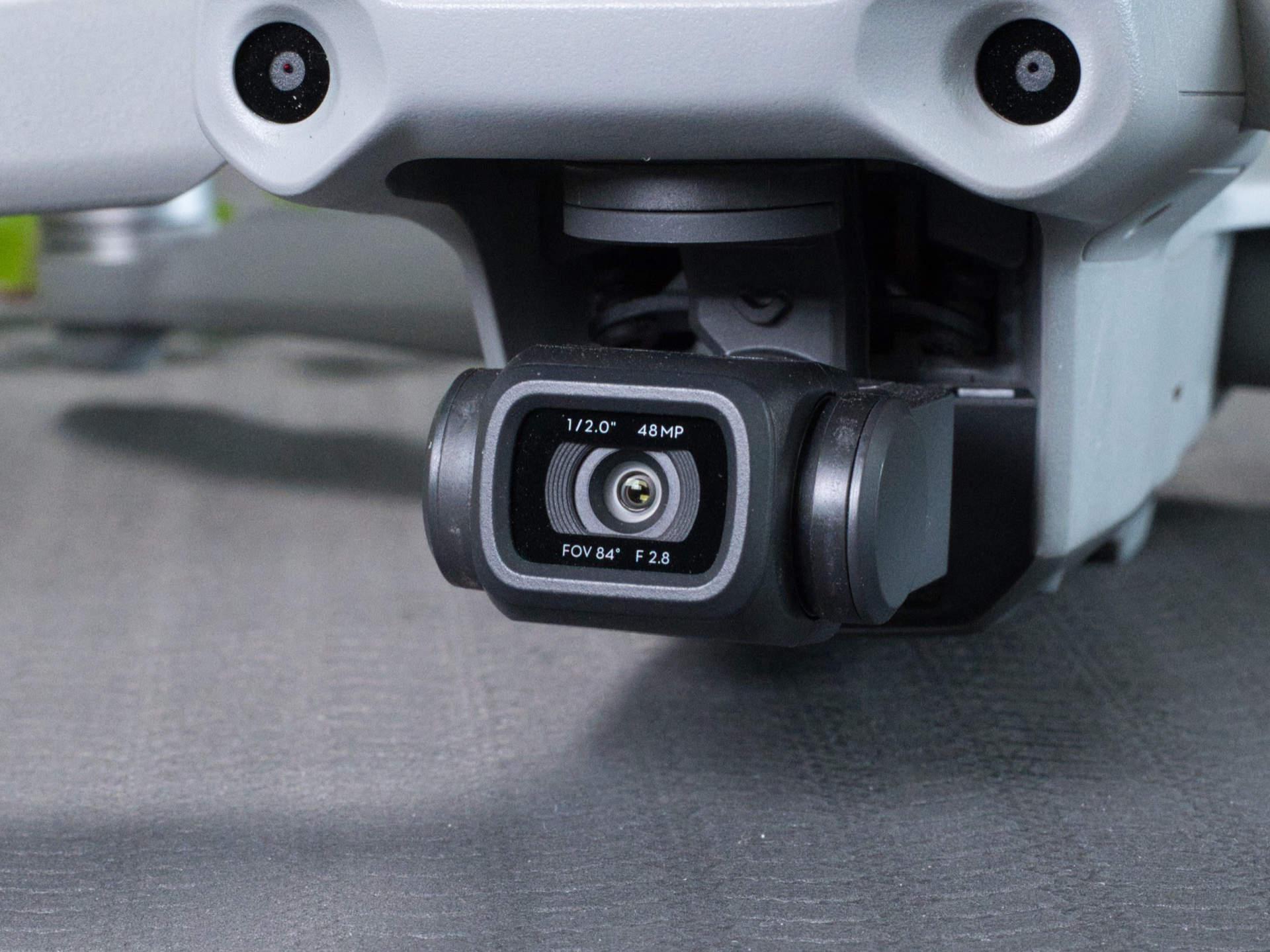 Großaufnahme der Mavic Air 2 Kamera